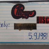 CHICAGO Disco Dj L EBREO 5-9-1981(my personal tape collection)