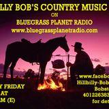 Hillbilly Bob's Country Music Show for 1st June