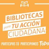 Sin Tacos ni Corbatas conversa sobre el proyecto Bibliotecas para TU Acción Ciudadana