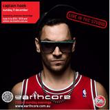 Captain Hook @ Earthcore radio show Kiss fm.