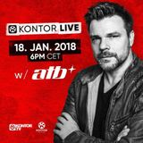 ATB - Kontor Live #60 - 18.01.2018 (Free) → [https://www.facebook.com/lovetrancemusicforever]