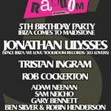 Tristan Ingram Live Random 5th Birthday, Source Bar, Maidstone, 24th March 2012