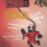 Direct Nuit des Troubadours 2016 - Lundi 5 Décembre 2016