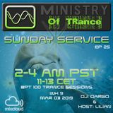 Uplifting Trance - Ministry of TRance Sunday service EP25 WK09 March 3
