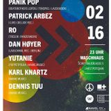 PATRICK ARBEZ LIVEACT @ KLUBN8 WASCHHAUS POTSDAM 20.02.16