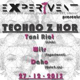 Daho@TechnoZhor (27.12.2013 Liberec/Experiment)