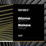 Bokee b2b Gizmo @ Retrogressive party Dot Belgrade 01.03.2019