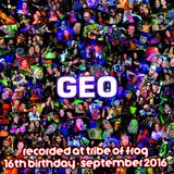 Geo - Recorded at Tribe of Frog September 2016