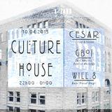 Podcast 006 - Culture House w/ G'Boï, César & Will.8
