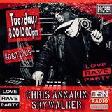 Chris Annakin - Love Rave Party - Osn Radio Plus - 31.07.18