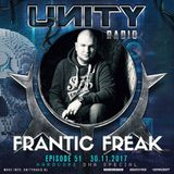 UNITY RADIO Episode #51 (UNITY - HARDCORE DNA Special) Frantic Freak (30-11-2017)