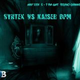 HTS 014 Syntex vs Kaiser BPM... 2nd Hour mixed by Kaiser BPM