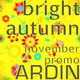 Ardin — Bright Autumn November Promo 2012
