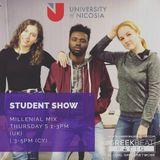 University of Nicosia Student Show (Week 6 ZODIAC SIGNS) - Millenial Mix with DJs Theo, Sia and Moz