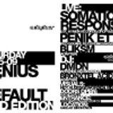 Penik Ettek live @ Adapter presents Genius By Default I (16052009, Gaslab Eindhoven, NL)