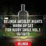 BELINDA ABSOLUT NIGHTS WARM UP SET FOR KIDDY SMILE VOL.1