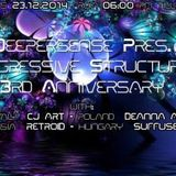 Retroid - Progressive Structures 3rd Anniversary Guest Mix (23-12-2014)