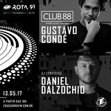 Rota 91 - 13/05/2017 -Daniel Dalzochio ( Dalzochio Music ) e Gustavo Condé (Club 88)
