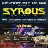 DJ Hype @ Syrous - The Empire Strikes Back, Toronto - May 1995