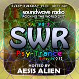 SWR Psy-Trance FM - hosted by Aesis Alien - Episode 013