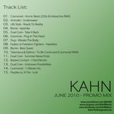 KAHN - JUNE 2010 PROMO MIX