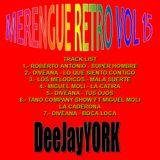 MERENGUE RETRO vol 15 By DeeJayYORK