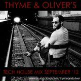 Tech House Mix September 2012