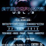 DJ Como - Live@Atmosphere Vol. 3 Art Klub Trnava 22_6_2013