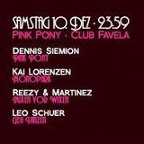 Leo Schuer - Pink Pony @ Club Favela - 10.12.2016