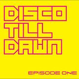 DISCO TILL DAWN Live dj mix Recorded at MONO Rotterdam