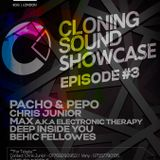 Max (BG) live from Cloning Sound Showcase @ Egg London - 17.10.2015