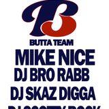 DJ Skaz Digga Butta Team Radio Show on FUBU Radio (Wax Master Torrey Dedication RIP)
