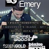 Gareth Emery - Live @ Governors Beach Club, New York, (06.07.2013)