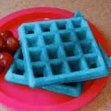 Blue Glue Waffles