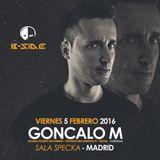 GONCALO M @ Specka Club. Madrid. Spain 05.02.2016