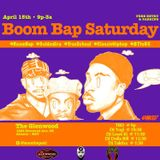 Boom Bap Saturday Live From The Glenwood EAV and on SawOne Radio App