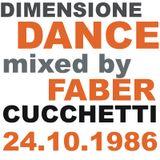 DIMENSIONE DANCE: 24 ottobre 1986 by Faber Cucchetti