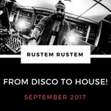 'From Disco To House' September mix 2017