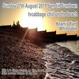 tvcabbage chill on the beach