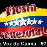 Programa Fiesta Venezolana - 24 setembro 2017 com ELY ORTA na Rádio Voz do Caima