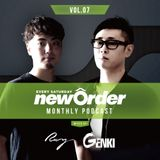 Club Piccadilly 『newOrder』 Official Monthly Podcast Vol,07 mixed by Ray & Genki