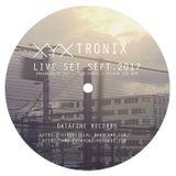 XYX Tronix - LIVESET sept.2017