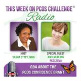 PCOS Confidence Grant - Answering Your Questions