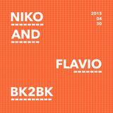 NIKO & FLAVIO BK2BK2 - Home Private Party - 30.04.2015