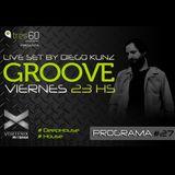 Groove #27 @ Vorterix Bahía (emitido el 14-07-17)