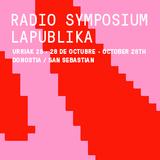 Cuña / Radio Symposium LaPublika. 28 de octubre - Donostia - San Sebastián