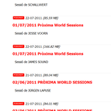 James Söund Radio Podcast #22: Próxima FM Spain (C-Side: TGlobal House Warmer #3)