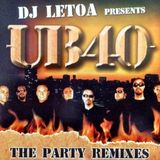 DJ Letoa - UB40 - The Party Remixes