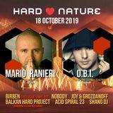Mario Ranieri @ Hard Nature, BalkanTone - Emmersion, Sofia, Bulgaria 18.10.2019