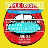 """Cromática Sexual - LMI - Acción juvenil -  Triple orgasmo """"Programa especial"""" 23 de Marzo"""